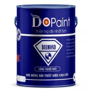 SƠN BÓNG NỘI THẤT SIÊU CAO CẤP DO PAINT - DIAMOND 5 LÍT