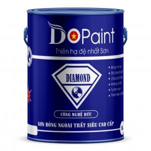SƠN BÓNG NGOẠI THẤT SIÊU CAO CẤP DO PAINT - DIAMOND 5 LÍT