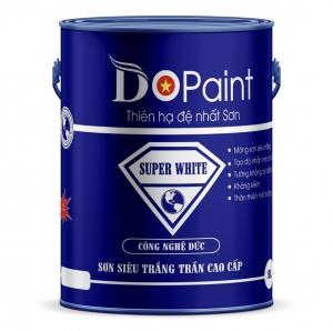SƠN SIÊU TRẮNG TRẦN CAO CẤP DO PAINT - SUPER WHITE 5 LÍT